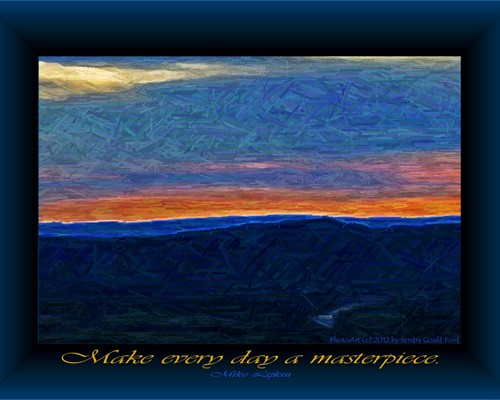 """Make Each Day A Masterpiece,"" Mike Lipkin"